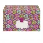 Petite boite de rangement - Petite fleur - Violet