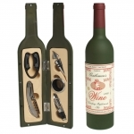 Set sommelier 5 accessoires - Bouteille de vin
