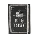 Carnet rigide avec élastique - My little book of big ideas