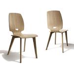 Chaise de salle à manger design en bois FINN