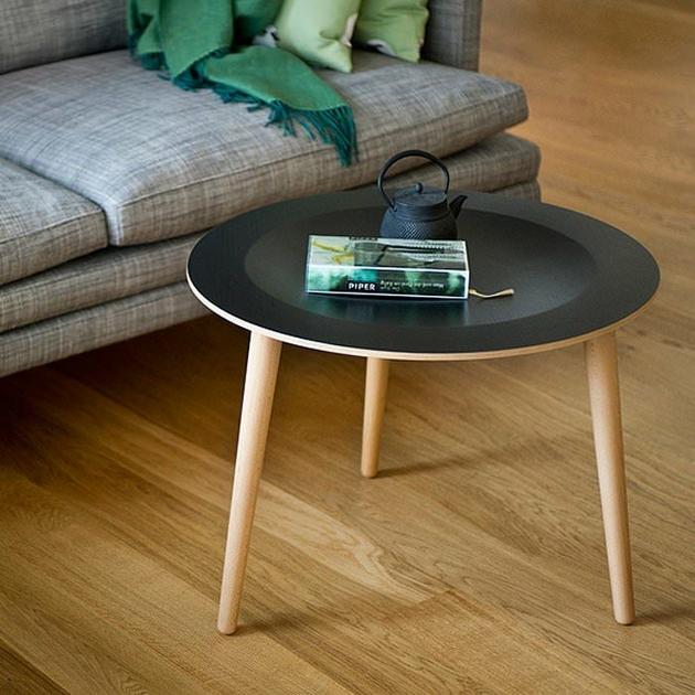 Table Basse D 39 Appoint La Bruna Noir Mobilier Tables