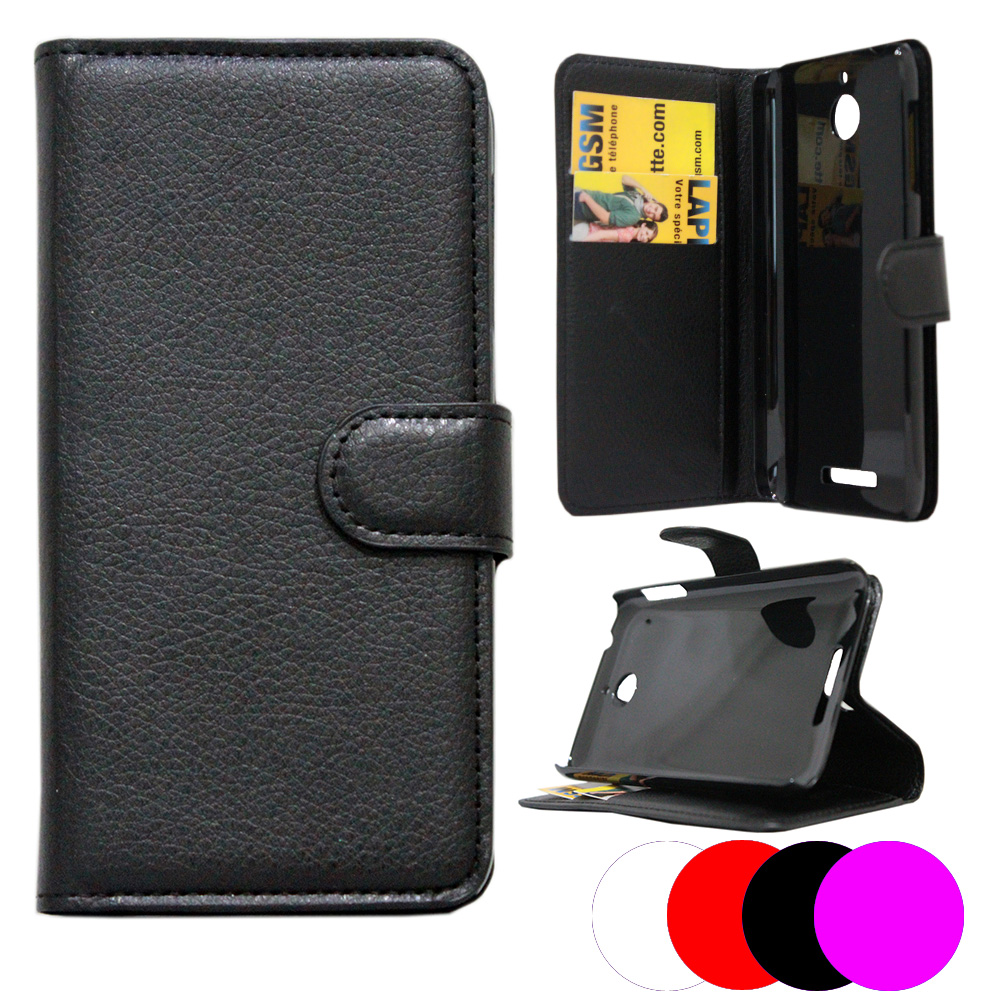 etui housse coque portefeuille htc desire 510 ebay. Black Bedroom Furniture Sets. Home Design Ideas