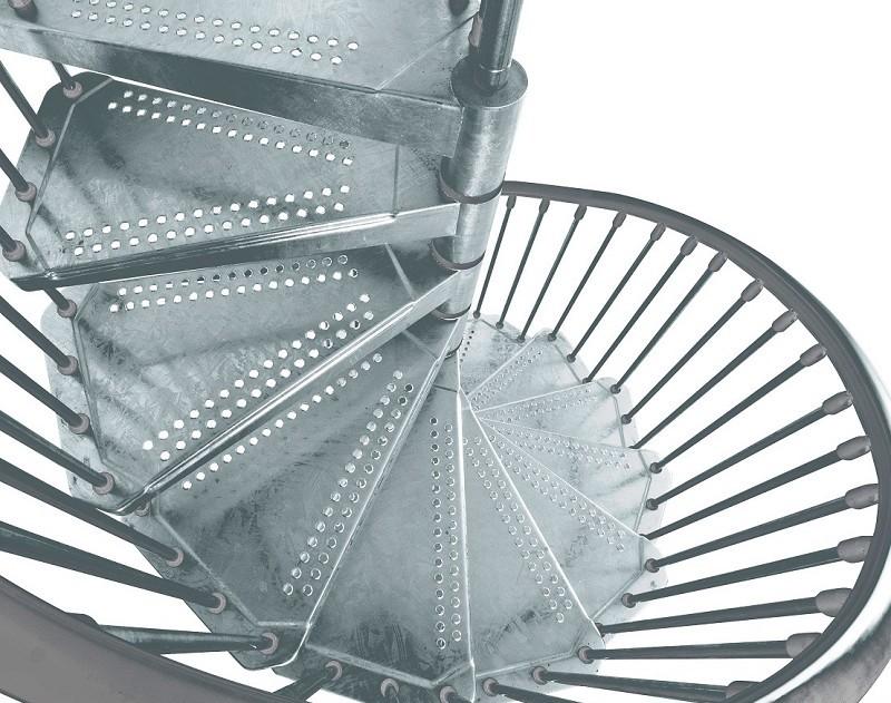 Escalier exterieur arke 3 for Escalier helicoidal exterieur