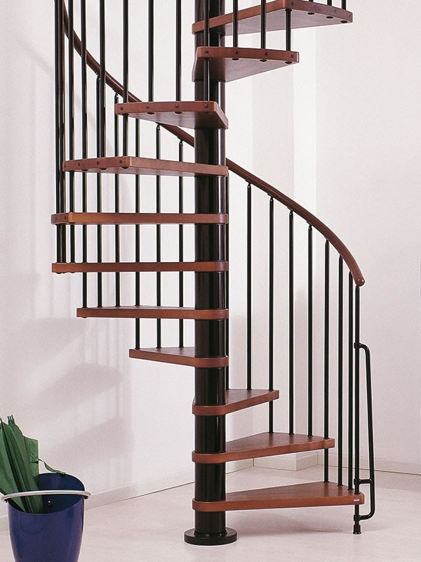 escalier h 233 lico 239 dal ark 232 klan en acier et h 234 tre massif 216 140 cm