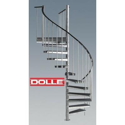 Escalier H Lico Dal Ext Rieur Dolle En Acier Galvanis 155 Cm