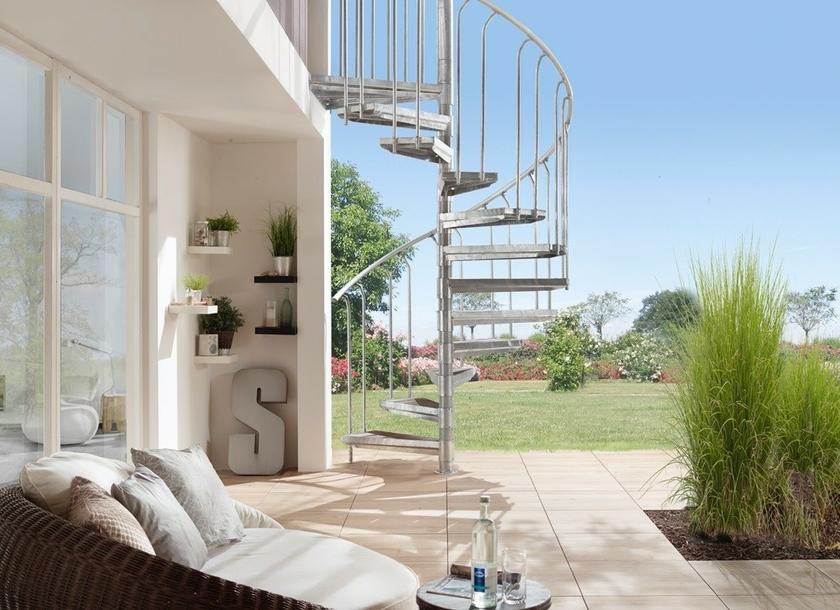 Escalier ext rieur galvanis trouvez le meilleur prix for Escalier exterieur pas cher