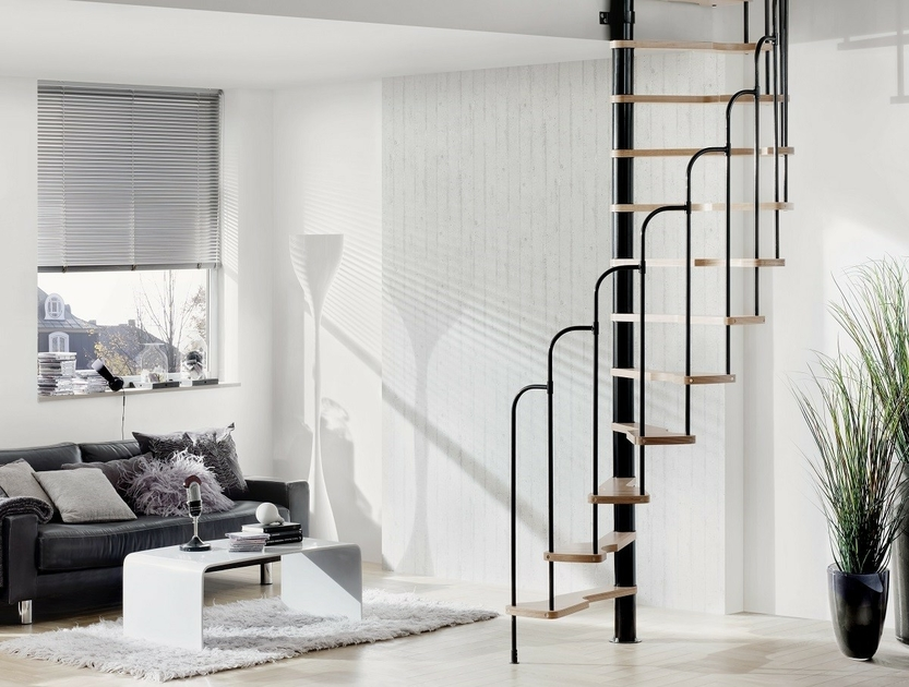 escalier semi h lico dal steinhaus 70x140 cm escalier. Black Bedroom Furniture Sets. Home Design Ideas