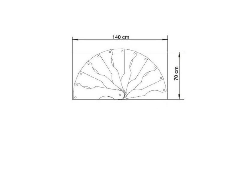 escalier semi h lico dal steinhaus 70x140 cm escalier colima on. Black Bedroom Furniture Sets. Home Design Ideas