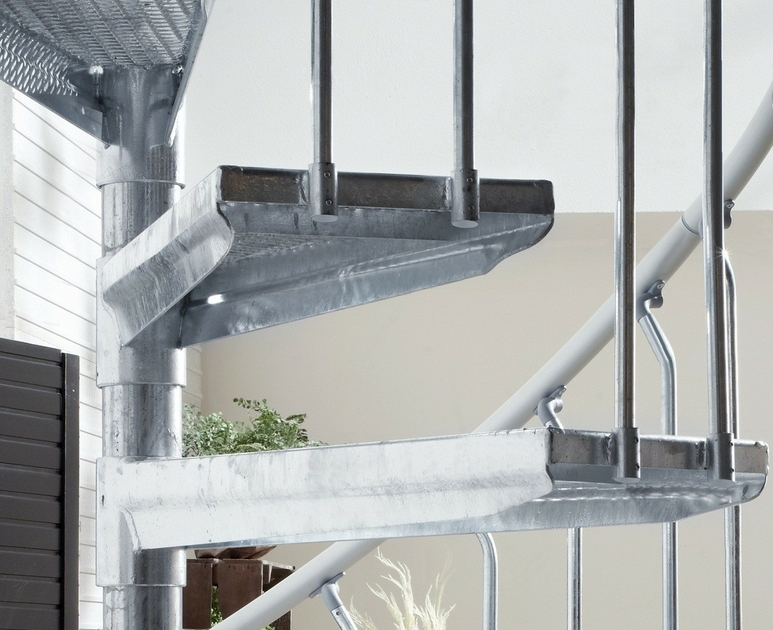Escalier acier galvanis trouvez le meilleur prix sur for Prix escalier exterieur en acier galvanise