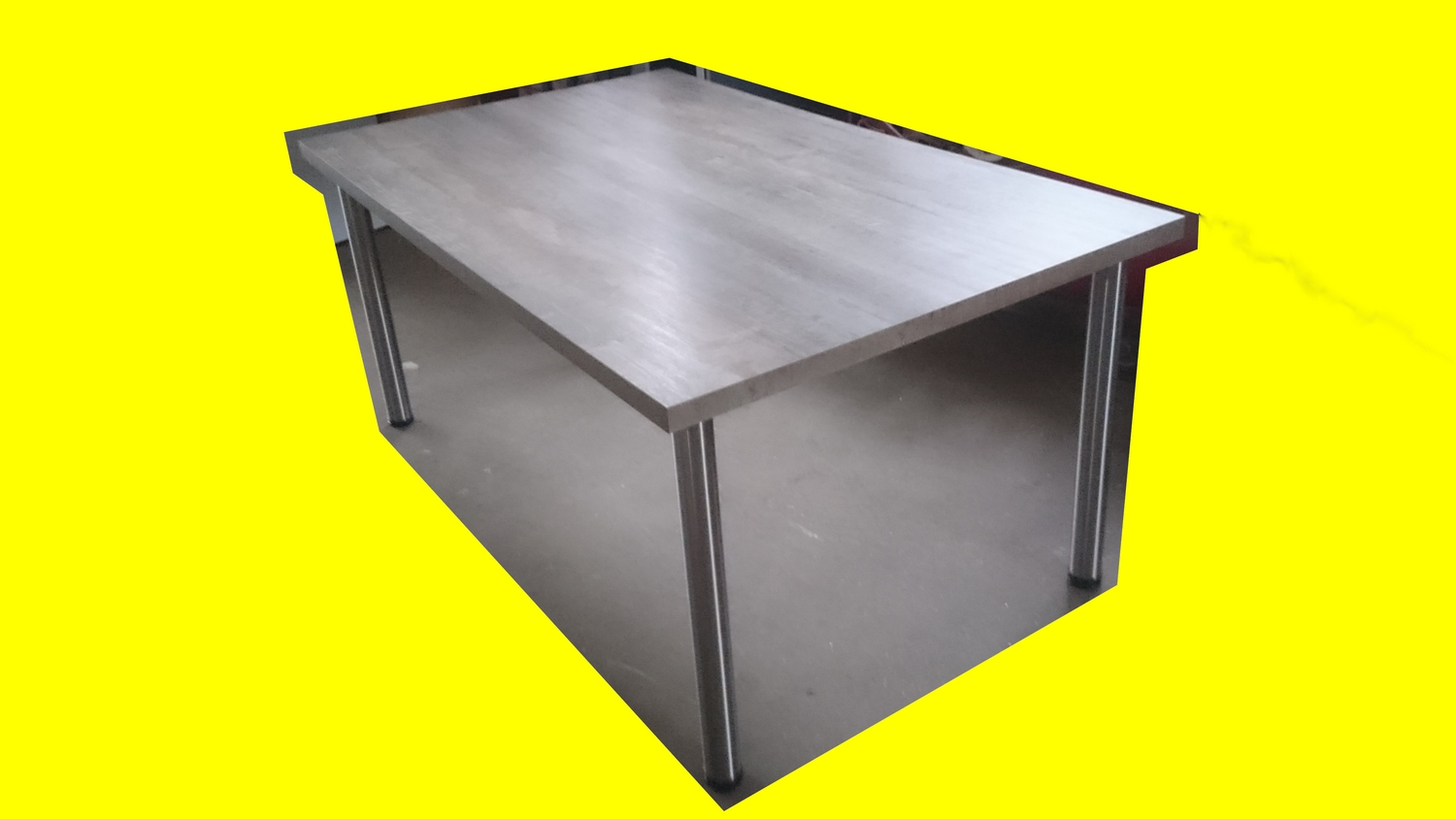 table de cuisine amenagee neuf 165x100 cm maison