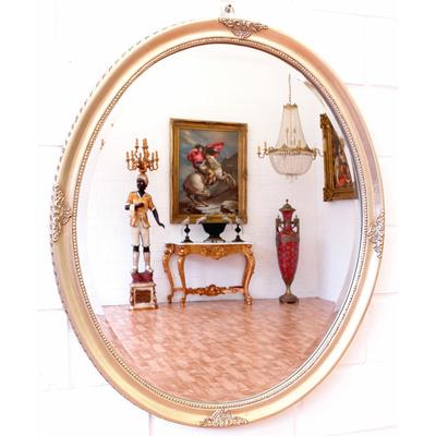 miroir louis philippe cadre en bois argent 67x57cm miroirs baroque classic stores. Black Bedroom Furniture Sets. Home Design Ideas