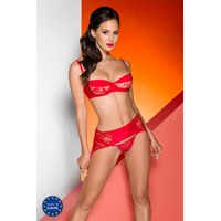 Ensemble Rayen Set rouge S-M