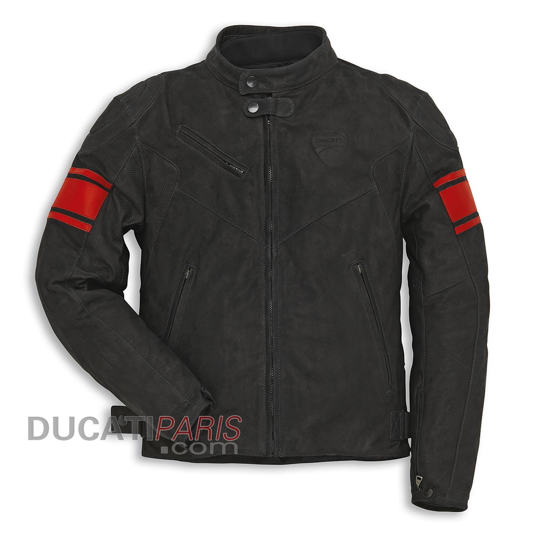 blouson en cuir classic c2 noir blouson et veste moto. Black Bedroom Furniture Sets. Home Design Ideas