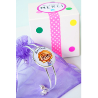 Bracelet + boîte cadeau à décorer