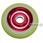 Roue Eagle Rouge / Jaune 100mm