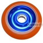 Roue Eagle Bleue / Orange 100mm