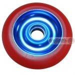 Roue Eagle Bleue / Rouge 100mm
