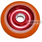 Roue Eagle Rouge / Orange 100mm