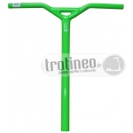 Guidon Blazer Pro Gloss Neon Green Y Bar 6061 Aluminium