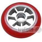 Roue Eagle Spoked Alu / Rouge 100mm