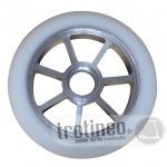 Roue Eagle Spoked Alu / Blanc 110mm