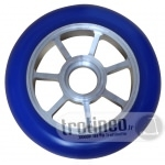 Roue Eagle Spoked Alu / Bleu 100mm