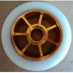 Roue Eagle Spoked Gold / Blanc 100mm