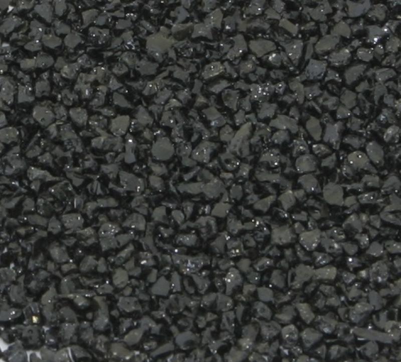 Gravier pour aquarium noir 1 3mm 10kg sol gravier for Gravier noir pour allee