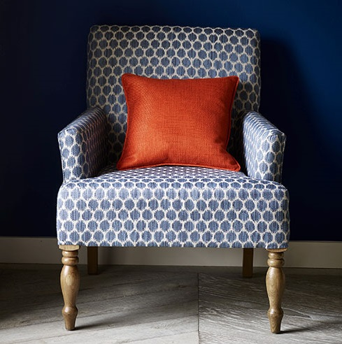Tissu patino tissus par diteur jane churchill le for Tissu d ameublement fauteuil