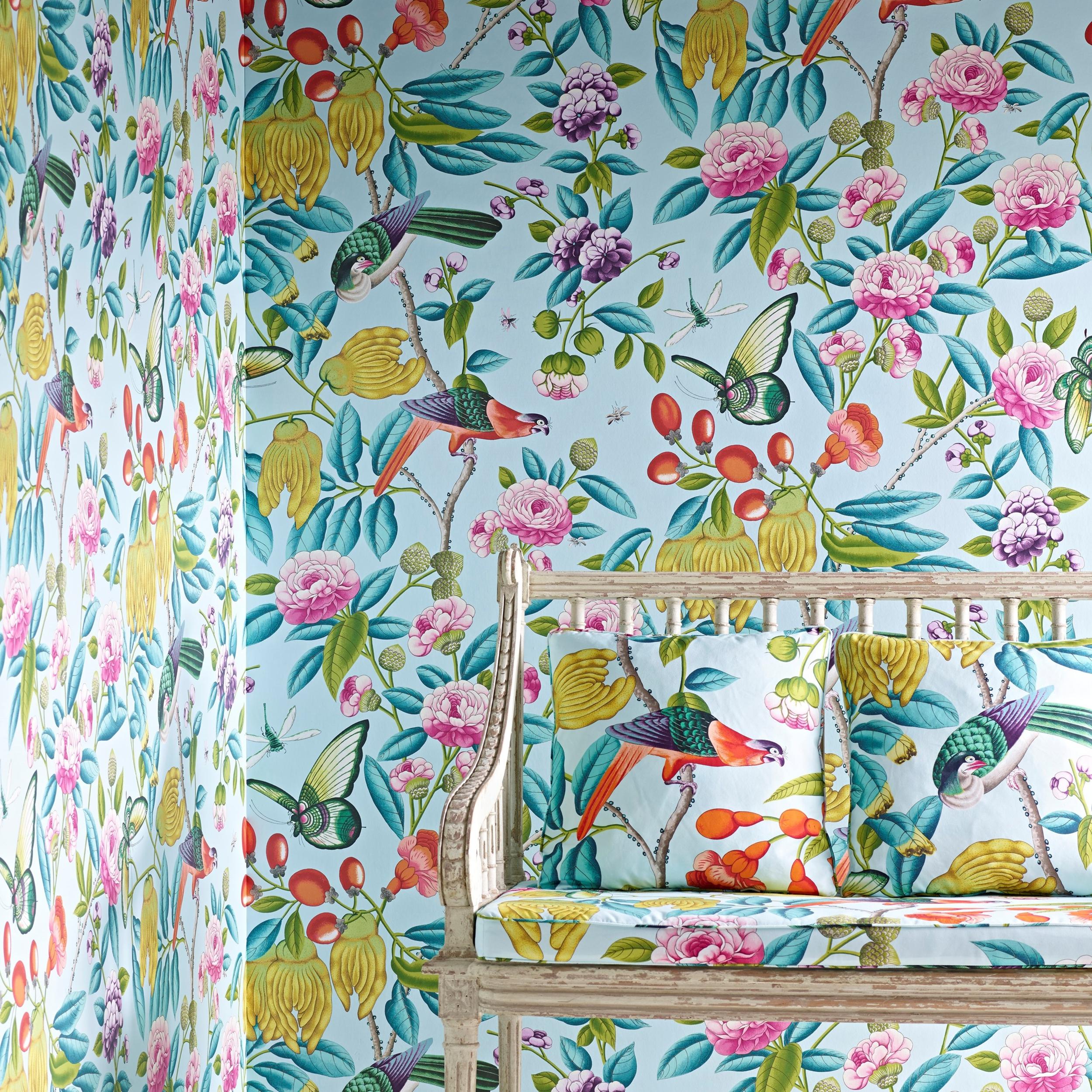 Papier peint serendip enfants papiers peints le boudoir des etoffes - Papier peint nouveaute ...