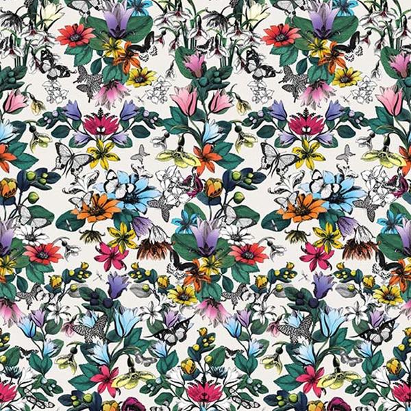 papier peint tulipan papiers peints par diteurs osborne little le boudoir des etoffes. Black Bedroom Furniture Sets. Home Design Ideas
