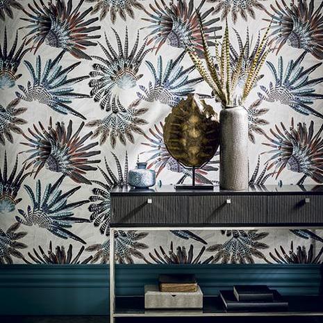 papierpeint9 papiers peints casamance. Black Bedroom Furniture Sets. Home Design Ideas