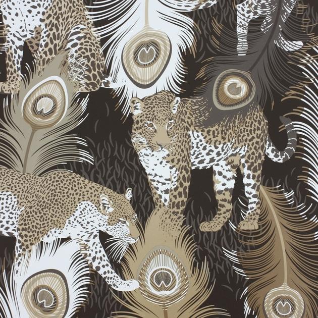 papier peint leopardo papiers peints par diteurs colefax and fowler le boudoir des etoffes. Black Bedroom Furniture Sets. Home Design Ideas