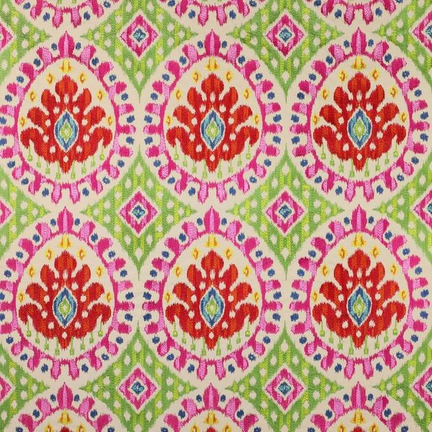 Tissu bella s l ction de tissus etnique le boudoir des etoffes - Tissu manuel canovas ...