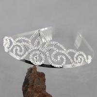 Diadème couronne serre-tête accessoire mariage mariée miss DM3
