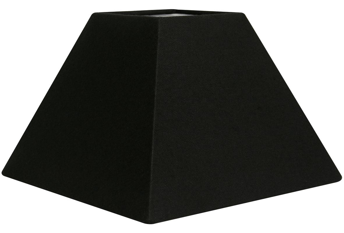 Abat jour pyramide noir abat jour forme pyramide e metropolight - Abat jour cm ...