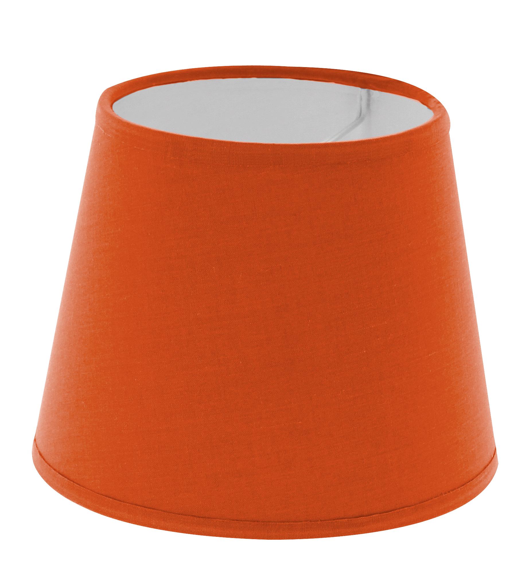 abat jour pince orange mango forme am ricaine abat jour. Black Bedroom Furniture Sets. Home Design Ideas