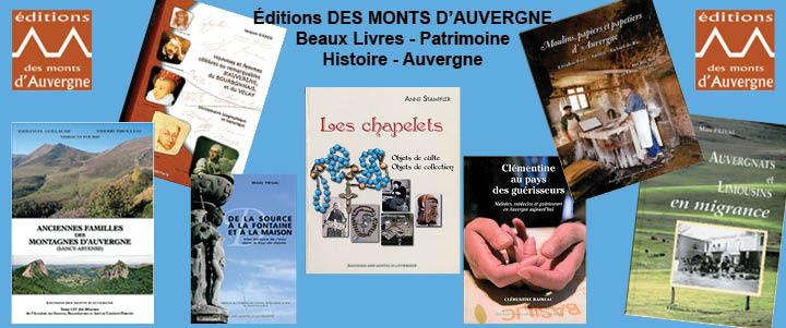 Éditions Des Monts d'Auvergne