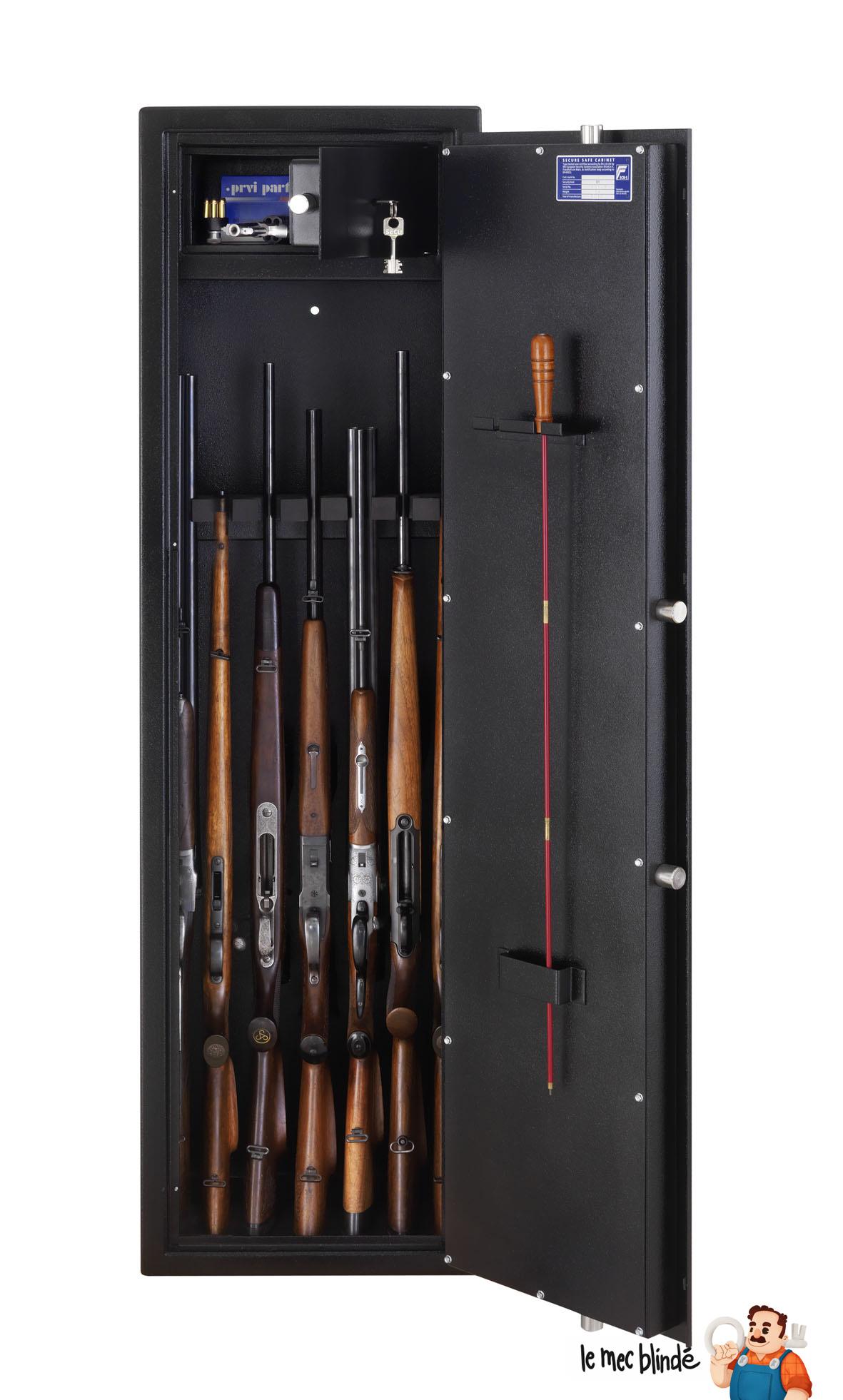 Armoire 224 Fusils Blind 233 E Burg W 196 Chter Ranger R S1 7