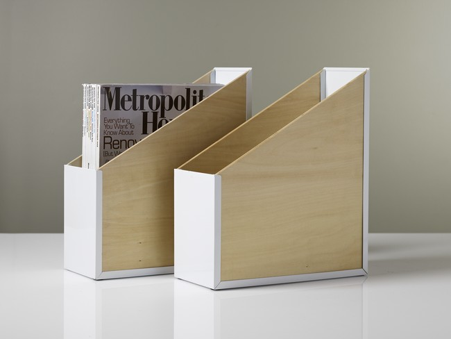 Boite de rangement design pour dossier for Rangement pour bureau design