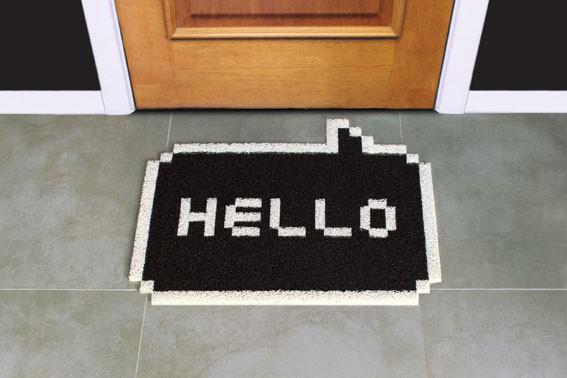 paillasson original tapis d 39 entr e de bureau. Black Bedroom Furniture Sets. Home Design Ideas