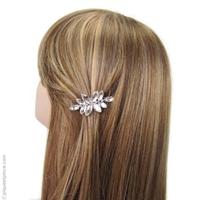 barrette claire bijou cheveux