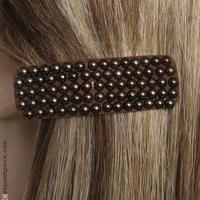 Barrette cheveux Fantaisie Bronze