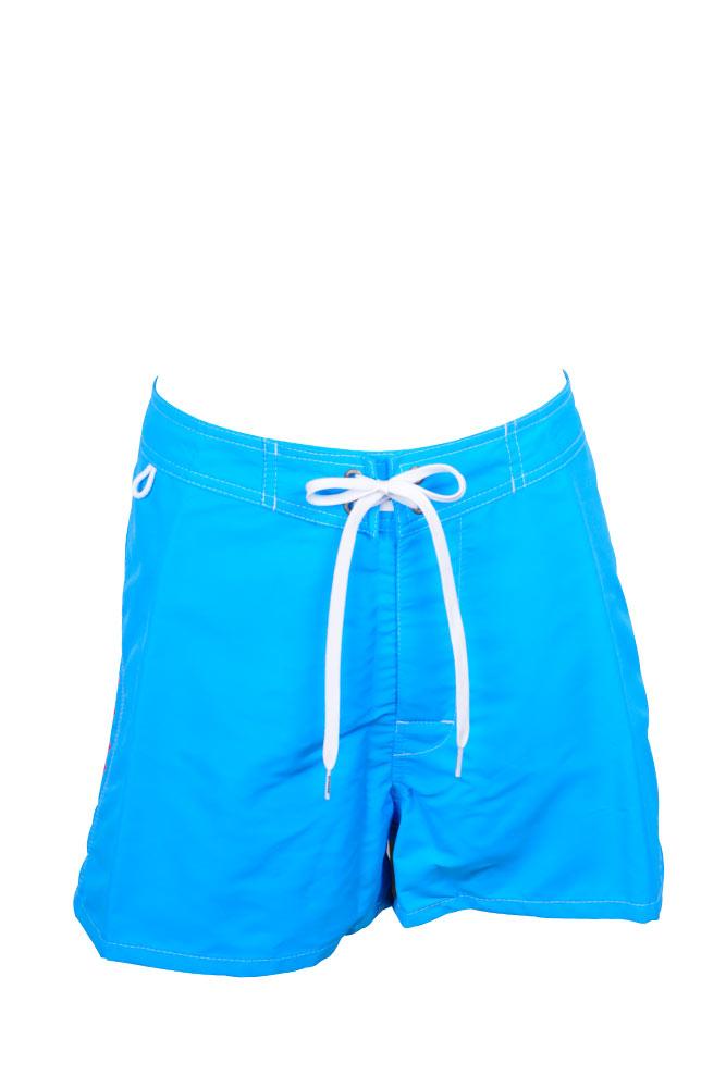 Trajes De Baño Azul Siete:Short de traje de baño hombre azul Skye
