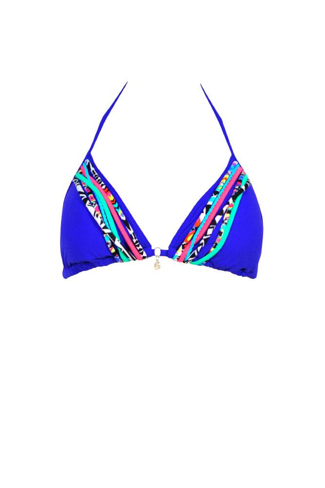 Trajes De Baño Azul Rey:Traje de baño Banana Moon modelo 2016 – Bikini triángulo barato