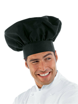 L 39 histoire de la toque du chef de cuisine cuisine for Cuisinier chapeau noir