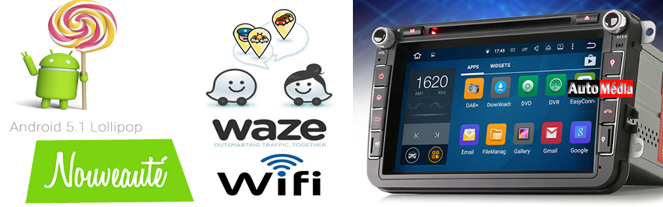 GPS Android VW en promotion