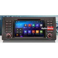 "Autoradio Android BMW Série 5 E39 & X5 E53 - NOUVEAU Android 5.1 GPS DVD USB Bluetooth écran tactile 7"""
