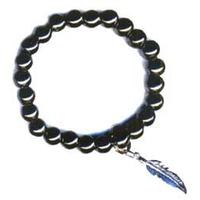 Bracelet Art de la chance en Hématite