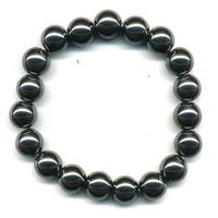 Bracelet Hématite boule 10 mm